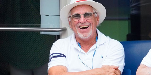 As Hurricane Florence moves toward the East Coast, Jimmy Buffett was all smiles in a social media photo Wednesday on a beach in South Carolina.