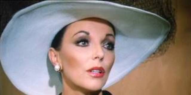 "Joan Collins in ""Dynasty."""