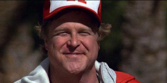 John Goodman appears as Coach Harris in 'Revenge of the Nerds' in 1984.