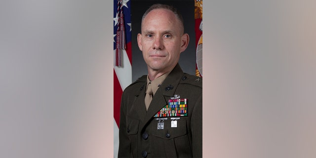 Marine Brig. Gen. John Baker is the the second highest-ranking lawyer in the Marine Corps.