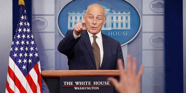 White House Chief of Staff John Kelly says the memo will be released