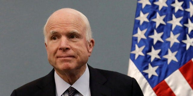 """The professor called U.S. Sen. John McCain a war criminal and a politician who has championed """"horrifying actions and been lousy on state commitment to public health."""""""