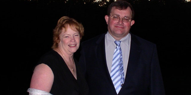 Robert Oliver, of Vernon, N.J., is pictured here with his fiancé, Mary Bradley.
