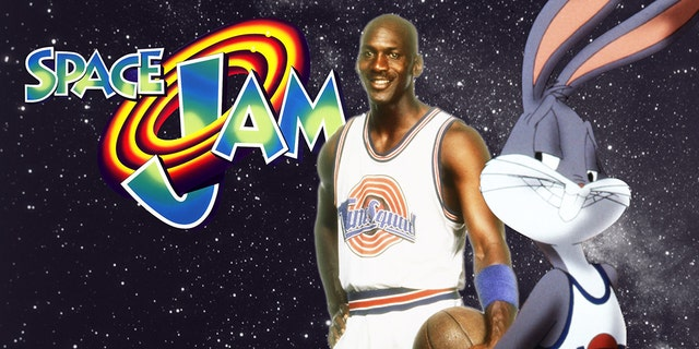 """Michael Jordan and Bugs Bunny appeared in the 1996 movie """"Space Jam."""""""