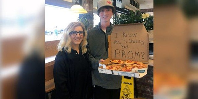 Josie Reason, 16, agreed to attend prom with her date Christian, at his Christian high school in Central, LA.
