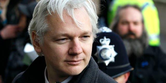 Julian Assange, WikiLeaks founder. (AP Photo/Kirsty Wigglesworth, File)