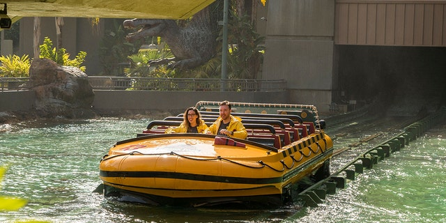 It took over half a day, but the California-based couple ultimately did it, gaining much more than the park's top title and 62 consecutive rides in return.