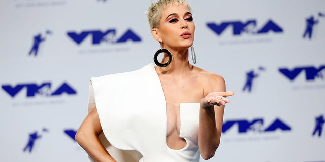 Katy Perry at the 2017 MTV Video Music Awards.