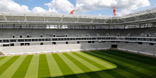 Kaliningrad Stadium in Kaliningrad, Russia.