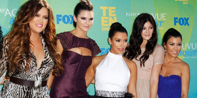 The Kardashian and Jenner sisters. From l to r Khloe, Kendall, Kim, Kylie and Kourtney (Reuters)