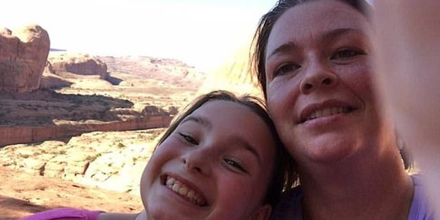 The family has already raised thousands of dollars in funeral funds after Karina Clark, right, killed herself and her daughter, Madison.