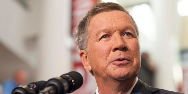 Ohio Gov. John Kasich, a Republican, will decide the fate of death row inmate Alva Campbell. Kasich is seen in Columbus, Ohio, July 21, 2015.