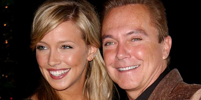Katie Cassidy with her father David Cassidy.
