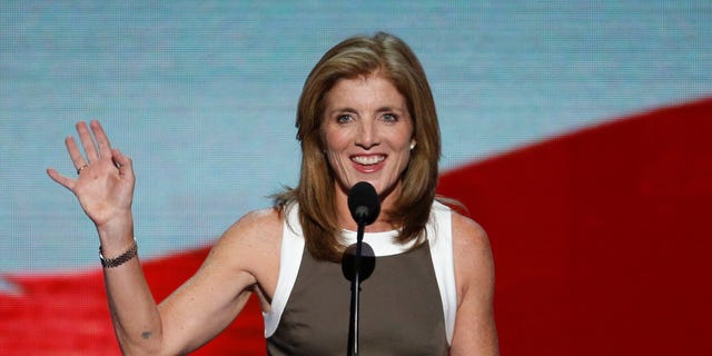 Caroline Kennedy was U.S. ambassador to Japan from 2013 to 2017.