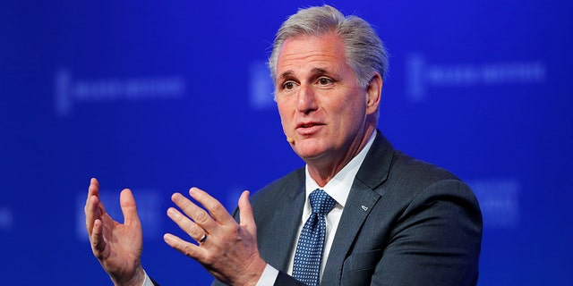 """President Trump encouraged Californians to vote for Kevin McCarthy in order to """"keep our country out of the hands of High Tax, High Crime Nancy Pelosi."""""""