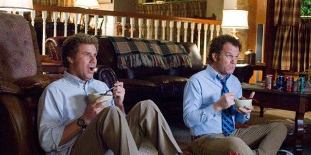 """In this image released by Columbia Pictures, Will Ferrell, left, and John C. Reilly are shown in a scene from, """"Step Brothers."""""""