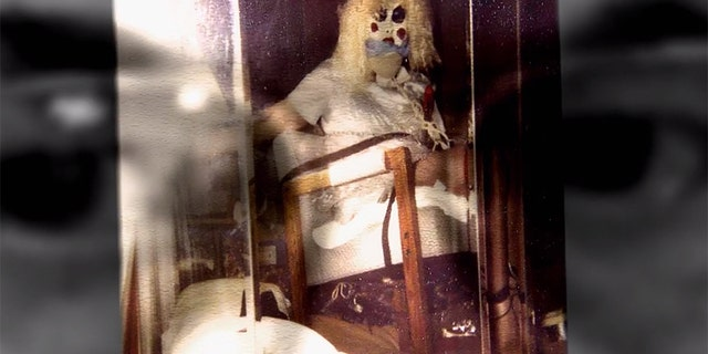 Dennis Rader reportedly took this photo of himself dressed as one of his victims.