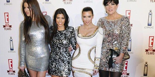 May 24: From left, Khloe Kardashian, Kourtney Kardashian, Kim Kardashian and mother, Kris Jenner.