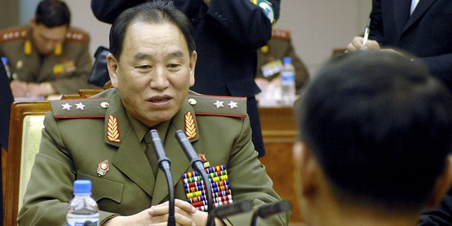 Kim Yong Chol is a former spy chief who has a controversial past when he was in that position.