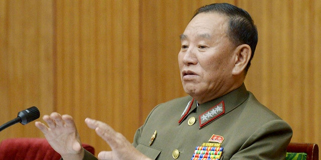Kim Yong Chol is currently the vice chairman of the ruling Workers' Party's Central Committee.
