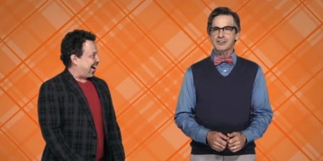 """King of the Nerds"" hosts Curtis Armstrong and Robert Carradine."