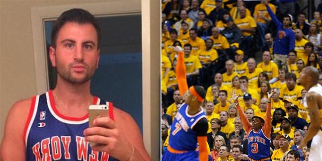 Evan Perlmutter sold his New York Knicks fandom.