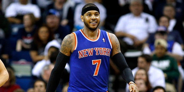 Kyrie Irving, KD pushing Nets to sign Carmelo Anthony