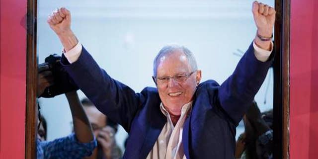 Ousted President Kuczynski, 79, was voted out by congress overwhelmingly in a 105-12 vote.