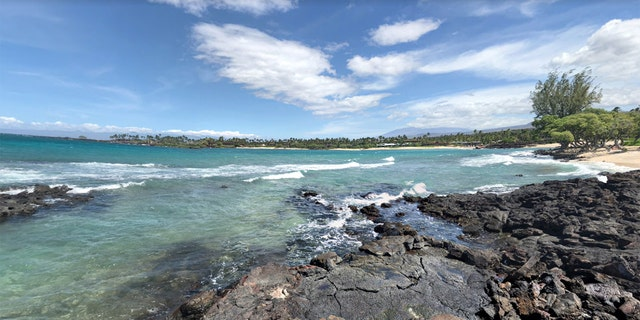 Kukio Beach was the site of a recent shark attack in Hawaii.