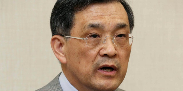 May 14, 2014: In this photo released by Samsung Electronics Co., Samsung Electronics Vice Chairman Kwon Oh-hyun speaks during a briefing in Seoul, South Korea. Samsung Electronics Co. apologized and promised compensation to chip factory workers who suffered cancers linked to chemical exposure, a rare win for families and activists seven years after the death of a 23-year-old employee from leukemia galvanized a movement to hold the company to account.