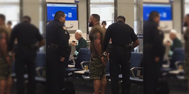 A man was arrested at LAX for going through a door that leads to the tarmac.