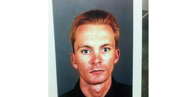 """This undated photo provided by the Los Angeles Police Department on Saturday March 30, 2013 shows Tobias Dustin Summers who was identified as a """"child-kidnapping suspect,"""" Los Angeles police said."""