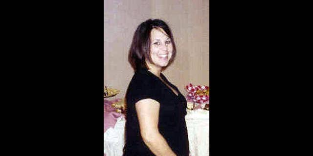 Laci Peterson when she was eight months pregnant with Conner. (AP)