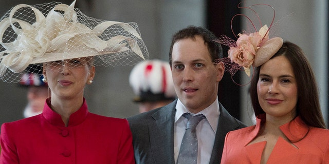 Lady Gabriella Windsor, Lord Frederick Windsor and his wife Sophie Winkleman