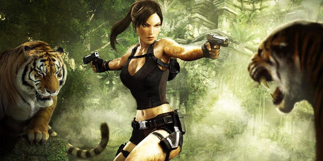 """Lara Croft, iconic star of the popular """"Tomb Raider"""" video game franchise. Researchers hope to use video games -- and a gamer's playing technique -- as a form of unique identifier."""