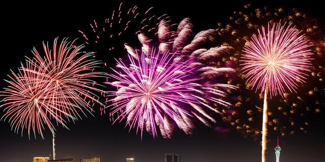 Check out the Caesars Palace Fireworks Show if you're near the strip.