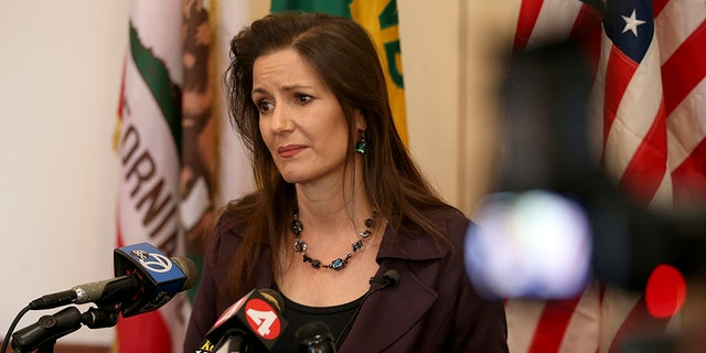 Libby Schaaf, mayor of Oakland, Calif.