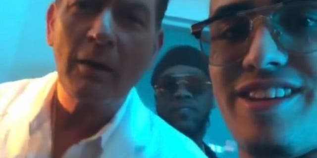 Charlie Sheen reportedly landed a guest role in rapper Lil Pump's music video.
