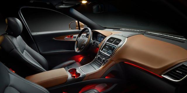2016 Lincoln MKX Black Label Thoroughbred interior
