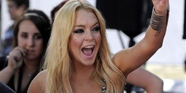 June 6: Lindsay Lohan arrives at the 2010 MTV Movie Awards.
