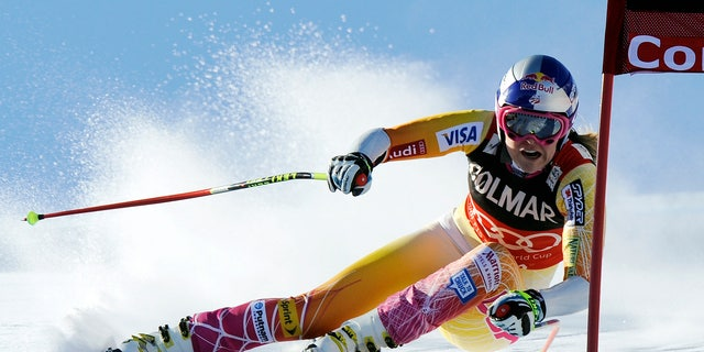 Lindsey Vonn won a gold medal in the women's downhill competition in 2010 in Vancouver.