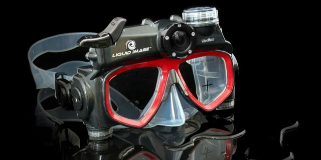 Don't want to fumble with a camera while you're swimming the Caribbean on your next trip? Liquid Image has dive masks with built-in cameras.
