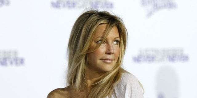 gardening Heather Locklear revealed that she is one year sober.
