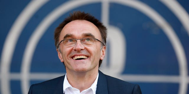 "June 17, 2012: This file photo shows Danny Boyle, the Oscar-winning director of ""Slumdog Millionaire"" as he speaks to the media in east London after being appointed to oversee the opening ceremony of the 2012 London Olympics."