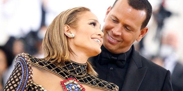 Jennifer Lopez and Alex Rodriguez in May 2018.