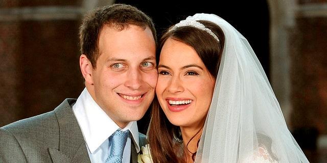 Lord Freddie Windsor with his wife Sophie Winkleman