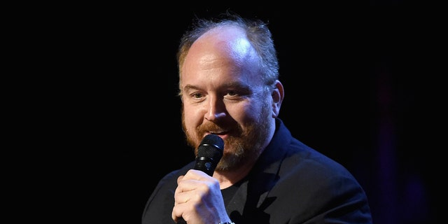 NEW YORK, NY - FEBRUARY 28:  Louis C.K. performs onstage at Comedy Central Night Of Too Many Stars at Beacon Theatre on February 28, 2015 in New York City.  (Photo by Mike Coppola/Getty Images for Comedy Central)