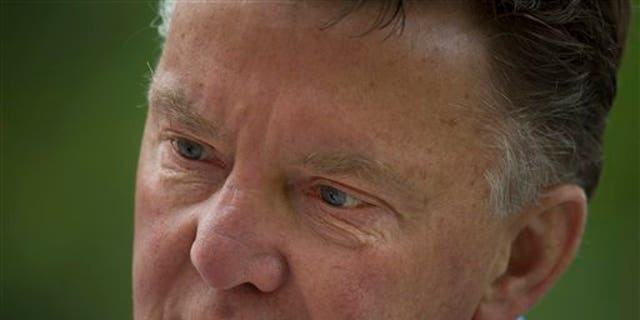 Louis van Gaal, coach of the Dutch national soccer team.