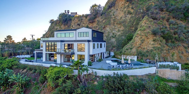 According to TMZ, the overdose occurred at Lovato's Hollywood Hills home, pictured here, and when paramedics arrived she was unconscious.