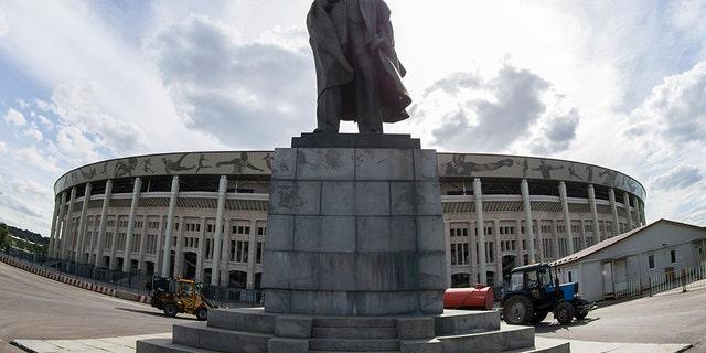 Luzhniki Stadium was originally built in 1956.